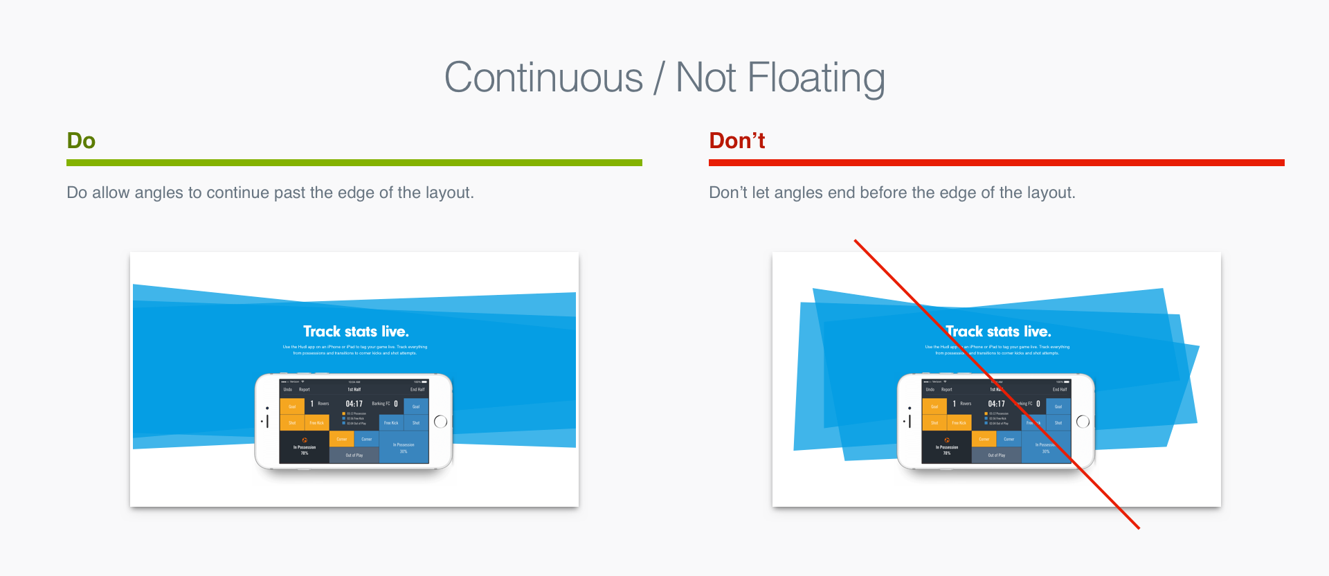 Continuous / Not Floating