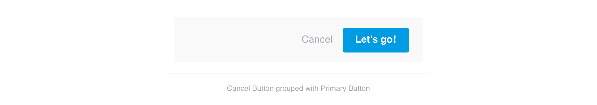 Cancel Buttons